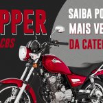 Chopper Road: Saiba por que é a moto mais vendida da categoria!